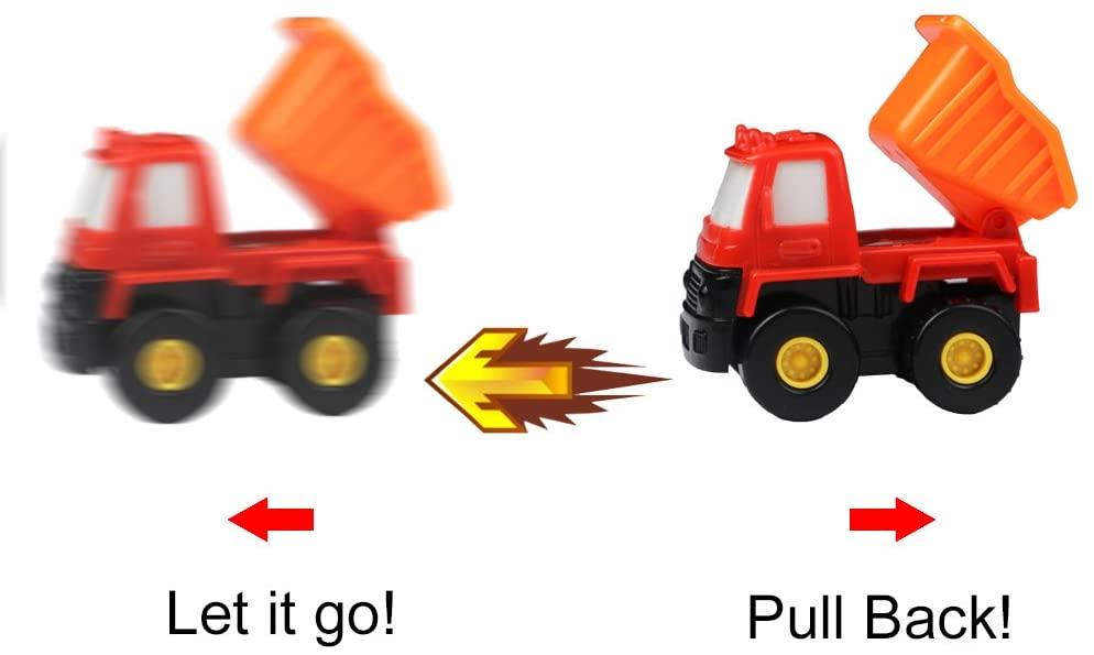 Piece Pull Back Mini Construction