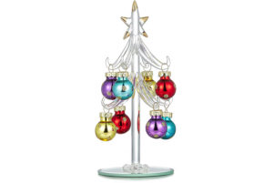 Youseexmas Miniature Glass Christmas Tree Review