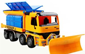 SINACO Toy Dump Truck With Snow Plow