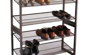 Langria 4 Tier Mesh Shoe Rack Review
