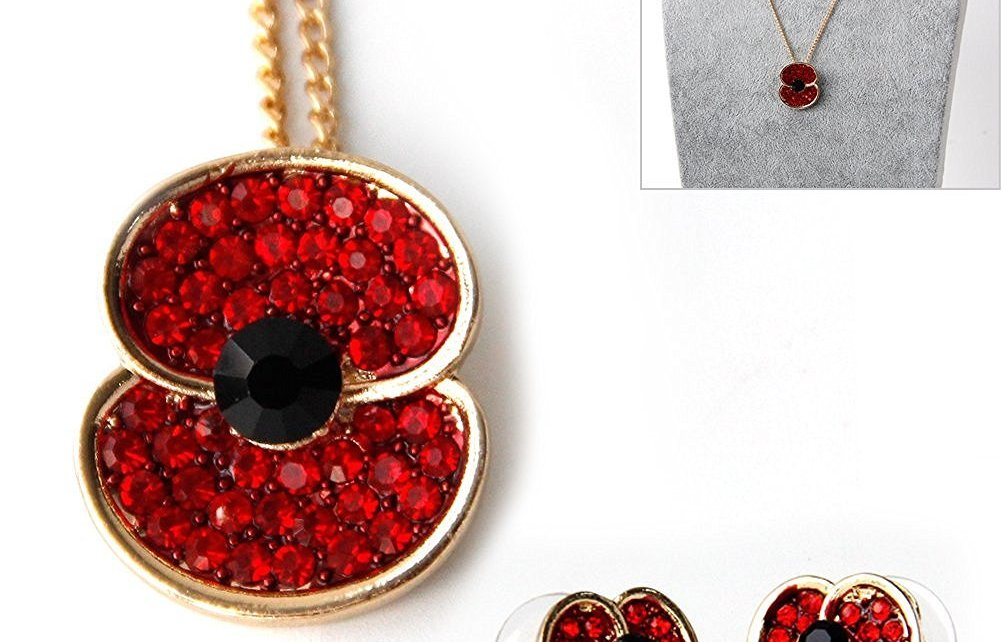 Littleducking Poppy Earrings and Necklace Set review