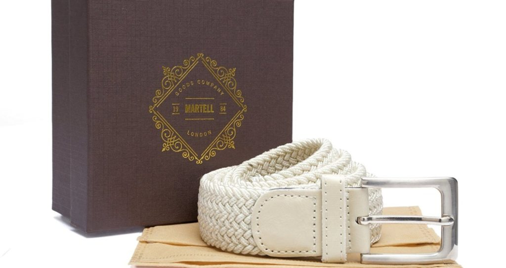 Martell Woven Mens Belt Review